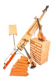 Hudební nástroje ze střešních tašek Tondach, autor: Petr Pavlinec