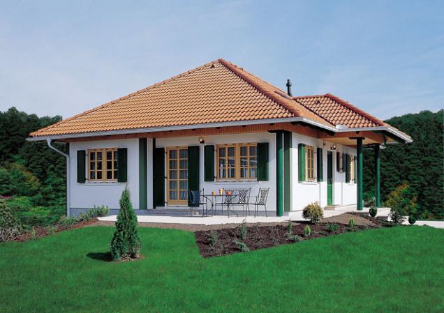 Oblíbenou podobou dřevostaveb je bungalov. (Zdroj: ADMD)