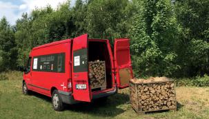 Soutěž: Nechcete shánět dřevo na celou topnou sezónu? HAAS+SOHN vám přiveze plnou dodávku dřeva až do domu.