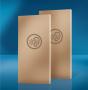 Hnědá deska Knauf SILENTBOARD dokáže v určitých konstrukcích odrazit až 68 dB