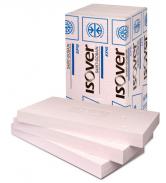 Doporučeným materiálem pro zateplení soklu jsou speciální izolační desky Isover EPS SOKL 3000 napěňované do forem pro náročné tepelné izolace konstrukcí, jež jsou vpřímém styku svlhkostí.