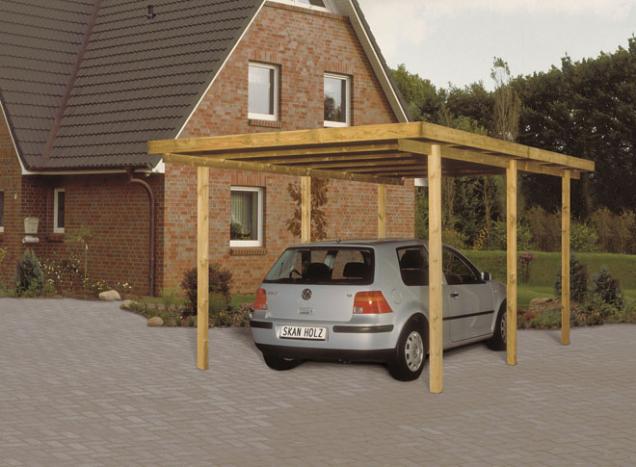 Pokud se přístřešek staví na dlažbu, lze vyjmout stávající dlaždice nebo kostky a vyhloubit otvory pro základ do hloubky 80 cm.