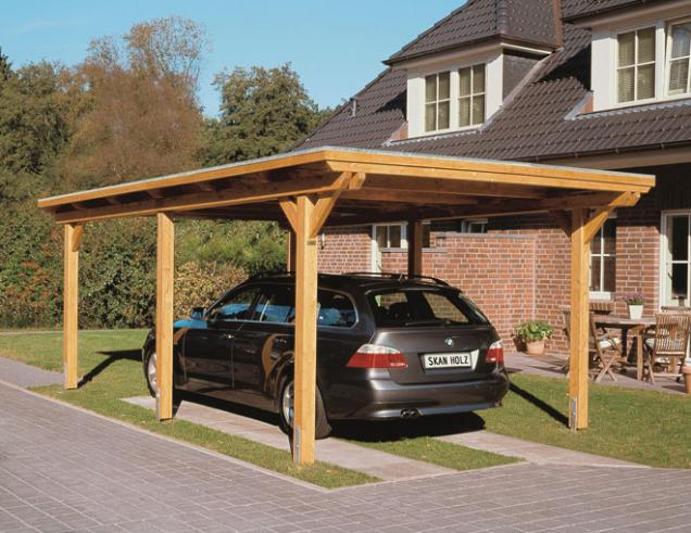 Standardní délka přístřešku pro jedno auto je 5 metrů, šířka 3 metry a výška 2,7 metrů. Rezerva by měla být přibližně 1 metr délky a šířky.