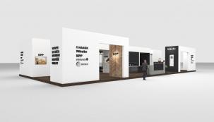 Luxusní dřevěné podlahy Kährs či ekologický program zdravých krytin WINEO PURLINE bude KPP prezentovat na společném stánku spolu s dalšími významnými interiérovými firmami a designovými značkami.
