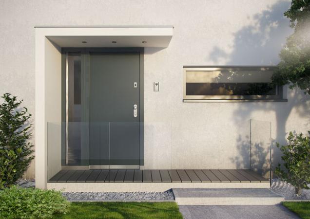 Bezpečnostní dveře NEXT SD 102 je mít prosklené nebo se světlíky