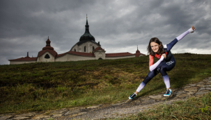 Martina Sáblíková právě kousek od Žďáru finišuje stavbu svého nového domu.