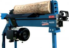 Horizontální hydraulický štípač dřeva