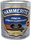 Hammerite Přímo na střechy alehké kovy je vodou ředitelná barva typu 3v1 nevyžadující základ.