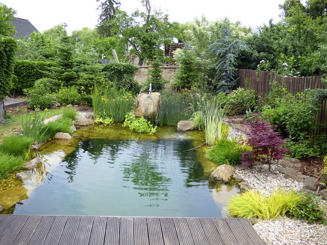 """Stará adobře """"prokořenělá"""" zahrada si žádala změnu. Voda do ní vnesla život (2)"""