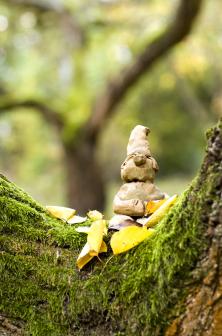 Skřítků žije na zahradě spousta. Posedávají vrozsochách stromů nebo se plaše krčí vhouští. Otom, že je snimi veseleji aže rozvíjejí prostor pro fantazii, není pochyb.