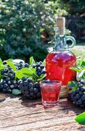 Temnoplodec černoplodý (Aronia melanocarpa) je známý jako černý jeřáb či prostě aronie. Jeho plody jsou ceněné pro vysoký obsah vitaminů. Těch si můžete užívat iněkolik měsíců, pokud zplodů připravíte nevařený sirup. Ke dvěma litrům plodů přidejte 80 g kyseliny citronové a2 litry vody. Nechte dva dny stát, poté bobule vymačkejte ašťávu přeceďte. Na 1 litr šťávy přisypte 1 kg cukru arozmíchejte.