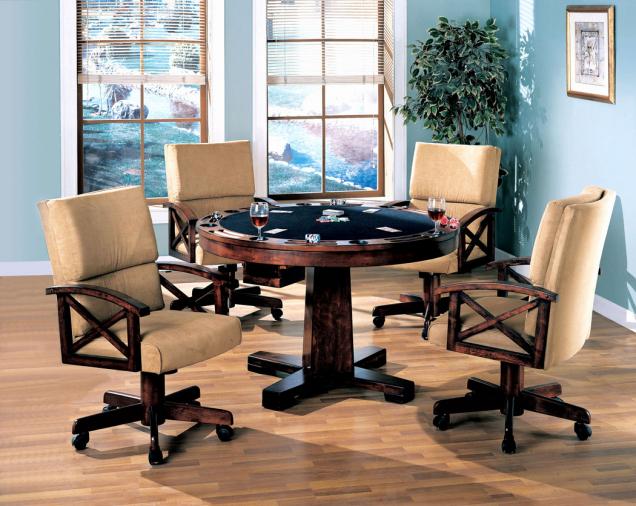 Pokerový, kulečníkový a konferenční stůl v jednom.