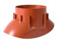 Střešní příslušenství - odvětrávací adaptér pro turbokotel (Zdroj: HPI.cz)