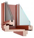 Okrasné špaletové okno (Zdroj: VEKRA)