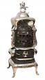 8.Americká kamna, výrobce: Royal, cena:75 000Kč,www.historickakamna.cz  Originální americká kamna Royal No.46 byla dovezena z USA kolem roku 1900. Jsou po kompletní renovaci a kromě exkluzivního vzhledu dodnes udivují topnými schopnostmi a důmyslným otočným a výklopným masivním roštem.