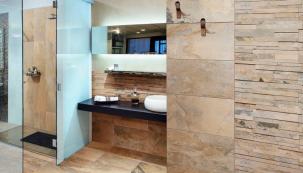 Velký bezbariérový sprchový kout (tzv. walk in) je vhodný především pro starší osoby