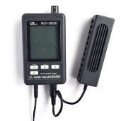 Měřič CO2 Lutron MCH-383SD srozsahem CO2  od 0 až do 4000PPM, teploty 0až50°Carelativní vlhkosti 10až 95%, cena6643Kč  (www.micronix.cz)