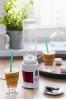5. SMOOTHIE maker -výrobce: Concept, cena:599 Kč,www.decodoma.cz  Univerzální mixér na koktejl, smoothie, proteinový nápoj nebo ledovou kávu. Sada obsahuje 4 plastové nádoby o objemu 500 ml, které slouží k mixování i konzumaci. Stačí odšroubovat a jít.