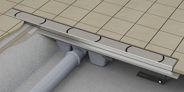 Ravak dodává žlábky odélce 30 až 1050mm, vhodné idoúzké niky nebo atypického prostoru. Garantovaný průtok 60l vody zaminutu zajišťuje bezproblémový provoz koupelny.