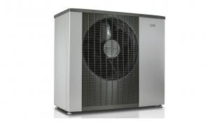 Tepelné čerpadlo NIBE F2120 systému vzduch-voda s výstupní teplotou topné vody až 65 0C vhodné i do nezateplených budov.