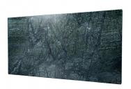 Sálavý panel může vinteriéru působit jako umělecké dílo.