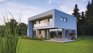 Tloušťka stěny pasivních domů ELK je 39,8cm, ztoho tvoří 36cm izolace. Díky tomu vykazují pasivní domy ELK nejnižší tepelné ztráty (ELK)