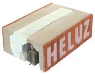 Aby dům s čistými liniemi nehyzdily dodatečné na fasádu přilepené krabice s venkovními žaluziemi, vyrábí společnost HELUZ v rámci svého kompletního systému i nosné roletové a žaluziové překlady se schránkou pro v podstatě jakoukoli stínicí techniku. (Zdroj: HELUZ)