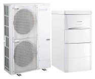 Tepelné čerpadlo systému vzduch/voda Alezio AWHP V200 vždy zajistí komfortní dodávku teplé vody díky vestavěnému zásobníku o objemu 180litrů (DE DIETRICH)