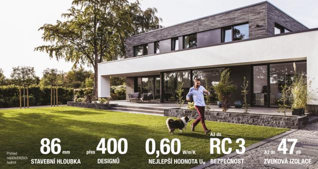 Před deseti lety se na trhu objevil kompozitní materiál na bázi PVC a skelných vláken RAU-FIPRO od společnosti REHAU, který znamenal zásadní zlom v navrhování okenních systémů. REHAU nyní představuje novou generaci kompozitního materiálu RAU-FIPRO X, která posunuje možnosti architektury o další kus dál, tedy hlavně do šířky a výšky. Díky inovaci kompozitního materiálu RAU-FIPRO X má teď okenní systém GENEO vylepšenou tuhost i větší odolnost proti ohybu. (Zdroj: REHAU)