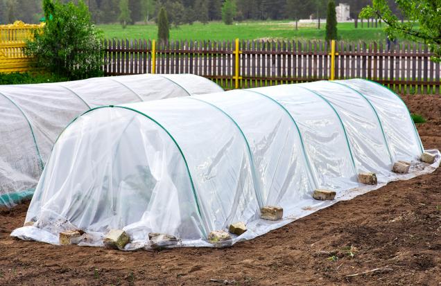Rychlé arovněž levné řešení je fólií pokrytý tunel zkovových prutů. Vpříštím roce ho podle potřeby můžete umístit najiné stanoviště. Poskytuje bezpečnou ochranu proti dešti aslunci avytváří přirozené mikroklima pro choulostivé mladé rostliny.