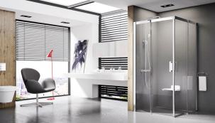 U sprchových koutů bez vaničky je extrémně důležitá kvalita odtokového žlábku (RAVAK)