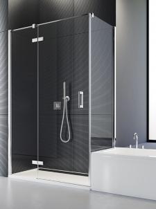 SANSWISS nabízí řadu bezrámových sprchových zástěn z bezpečnostního skla do běžné i atypické koupelny.