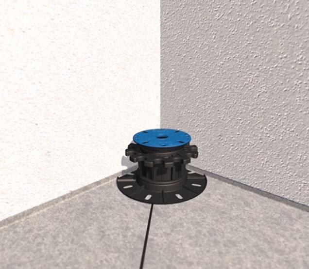 3., 4. Terče stavitelné (obdobně i terče samonivelační) umístíme co nejblíže k rohu, popřípadě ke stěně. Vymezovací mezerníky, které nám budou překážet, odstraníme. (Zdroj: HPI-CZ)