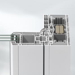 Plastové profily Schüco LivIngSlide vytvářejí čisté linie. (Zdroj: Schüco CZ)