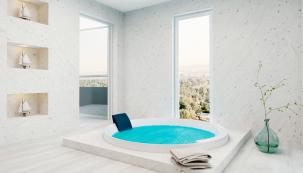 Domácí wellness už dávno není finančně nedostupný rozmar a mnoho lidí si proto řeší prostory k relaxaci doma. (Zdroj: Knauf)