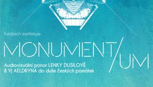 Lenka Dusilová společně s VJ Aeldrynem ze studia Lunchmeat připravují cyklus představení MONUMENT/UM, hudebně-obrazový benefiční projekt, kterým v létě tohoto roku podpoří krásné, ale také zchátralé památky - kostel, hrad, lázně a továrnu - v severních a západních Sudetech. Monument/um, v jehož hlavní roli je památka, spojuje daný MONUMENT, MOMENT a UM a vytváří tak jedinečný site specific zážitek. Lenka Dusilová a Aeldryn tak nabízejí unikátní pohled na vybrané památky (v příloze) a jejich životní příběh.