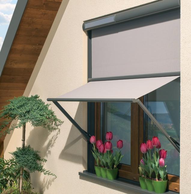 Markýzolety pro fasádní okna VMB (Zdroj: FAKRO)