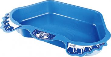 3.Čisté nohy, čistá voda:výrobce Desjoyaux, cena:5445Kč  Stabilní plastová vanička určená koplachu nohou před vstupem dobazénu. Je vhodná kekaždému nadzemnímu bazénu anapomáhá udržovat bazénovou vodu čistou.