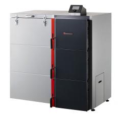 Dakon DOR 5N Automat sautomatickým doplňováním paliva je určen pro spalování hnědého uhlí adřevěných pelet asplňuje přísné podmínky  Ekodesignu (DAKON)