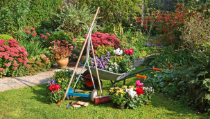 Září v zahradě