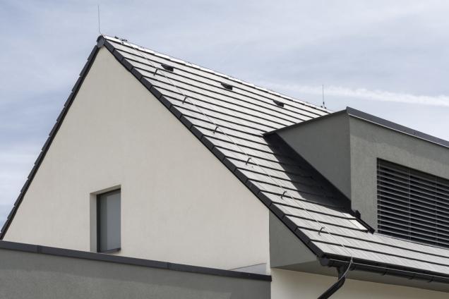 Masivní střecha ze systému stavebních komponentů Ytong splňuje náročné požadavky na snížení energetické náročnosti (Zdroj: XELLA)
