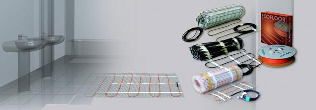 Ultratenké lepené tepelné rohože Ecofloor umožňují snadnou montáž aposkytují příjemné teplo (FENIX)