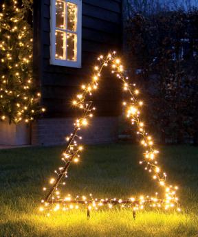 LED světelný stromek Lafiora (Zdroj: Hornbach)