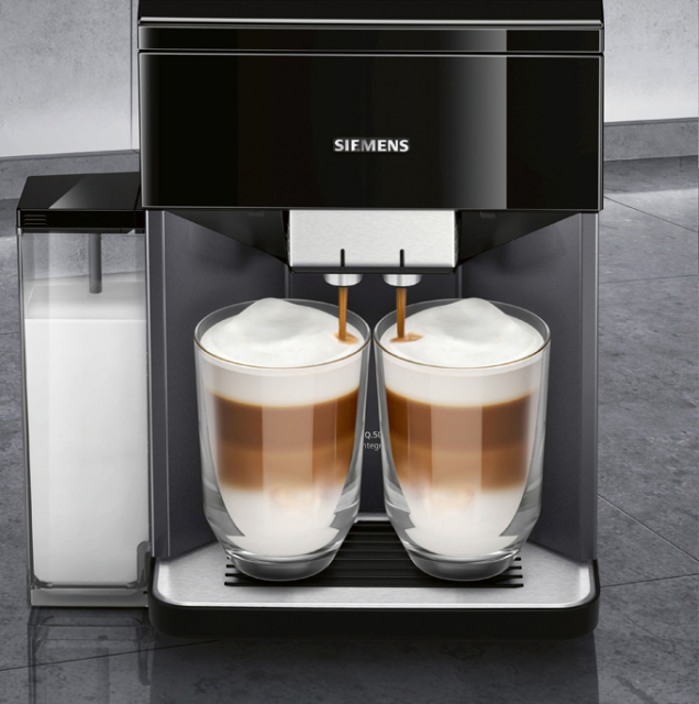 Kávovar Siemens EQ.500 latté (Zdroj: Bosch)