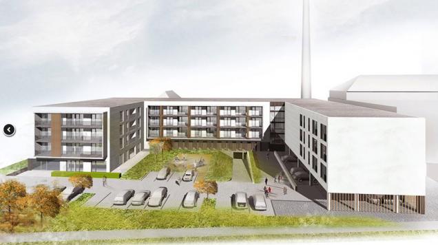 Developerský projekt Byty Papírnická (Zdroj: MIRAS – stavitelství a sanace s.r.o.)