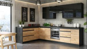 Pojem moderní kuchyně toho pod sebou skrývá spoustu. Ergonomickou kuchyni, ve které jsou logicky rozdělené zóny na uchování, přípravu, zpracování a tepelnou úpravu pokrmů, spotřebiče jsou při ruce a nemusíte se k nim krčit, skříňky nebouchají, trouba peče sama… Podívejte se, co by ve vaší nové kuchyni nemělo chybět. (Zdroj: JENA NÁBYTEK)