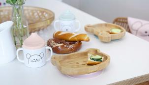 Bambusové misky Lässig Platter bamboo (Zdroj: Babypoint)