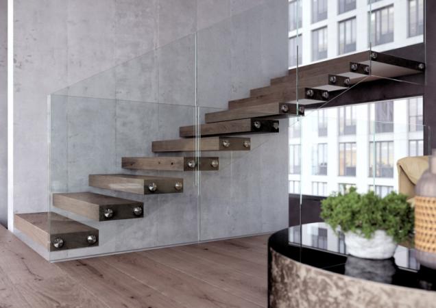 Třmenové schodistě WING, foto JAP FUTURE