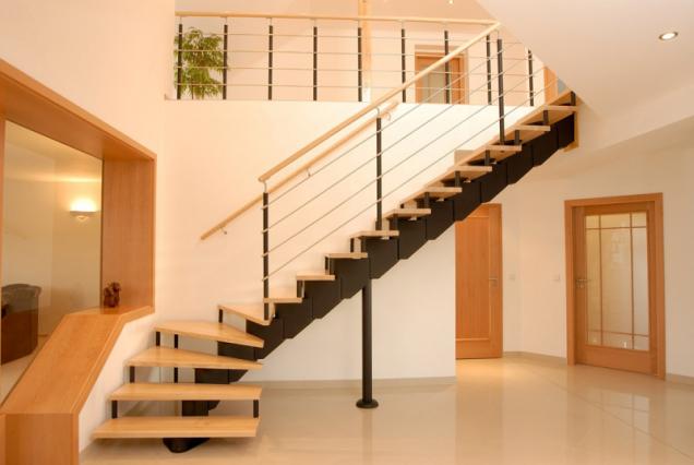 Ukázka segmentového schodiště z produkce JAP FUTURE