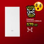 Powerbank Xiaomi 20000mAh Mi Power Bank 2C bílá (Zdroj: Mobil Pohotovost)